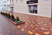 Тротуарная плитка, поребрик, бордюр.