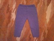 Детские вязаные штаники (новые)