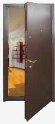 Двери  входные металлические,  по индивидуальным размерам
