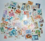 100 марок почтовых Венгрии