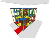 Лабиринт игровой детский (бизнес оборудование)