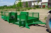 трап-тележка ТТ-1С для перевозки скота