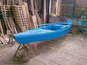 лодка из дерева (сосна,  дуб)