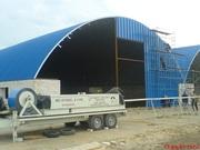 Продаем оборудование MIC UBM для строительства ангаров