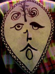 Ритуальный шаманский бубен