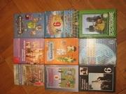 Комплект учебников за 6 класс в отличном состоянии