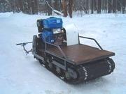 Мотобуксировщик,  мотособаки,  мини снегоходы Фантек.