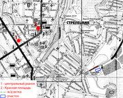 продам земельный участок в центре г.Курска,  пл 1, 62Га