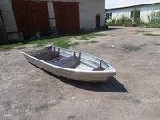 Продаю алюминиевую лодку-скиф 3, 7 м