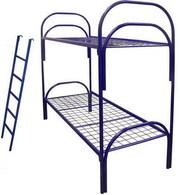 Кровати металлические,  койки армейские оптом для строителей,  рабочих,  общежитий и мн. др.