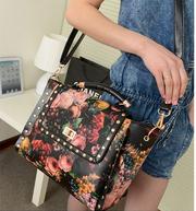 Корейская версия ретро сумки плеча холщовый мешок