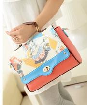 Корейская версия хит цвет переносная сумка плеча мешок конфет
