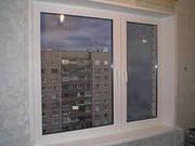 остеклим плaстиковыми окнами