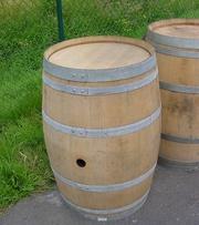 Наше производство изготавливает натуральные дубовые бочки