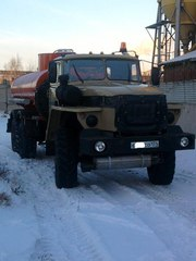 Автотопливозаправщик АТЗ 10 на шасси Урал 4320-1912-30
