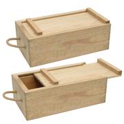 Деревянные коробочки для вина...