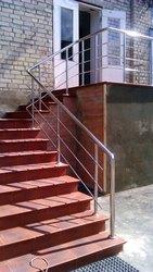 поручни для инвалидов, перила для лестниц, ограждения, комплектующие из н