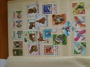 Продам почтовые марки на разные темы