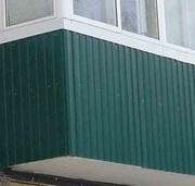 Отделка балкона,  лоджии в Воронеже и области