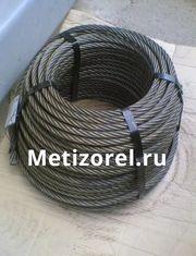 Грозотрос ТК35 ГОСТ 3063 80 ф 8, 1 мм Г-В-С-Н-Р-Т 1770 оцинкованный