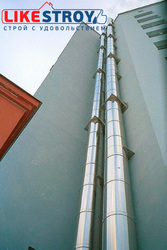 Фасадные трубы