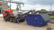 Вывоз строительного мусора бункером Воронеж